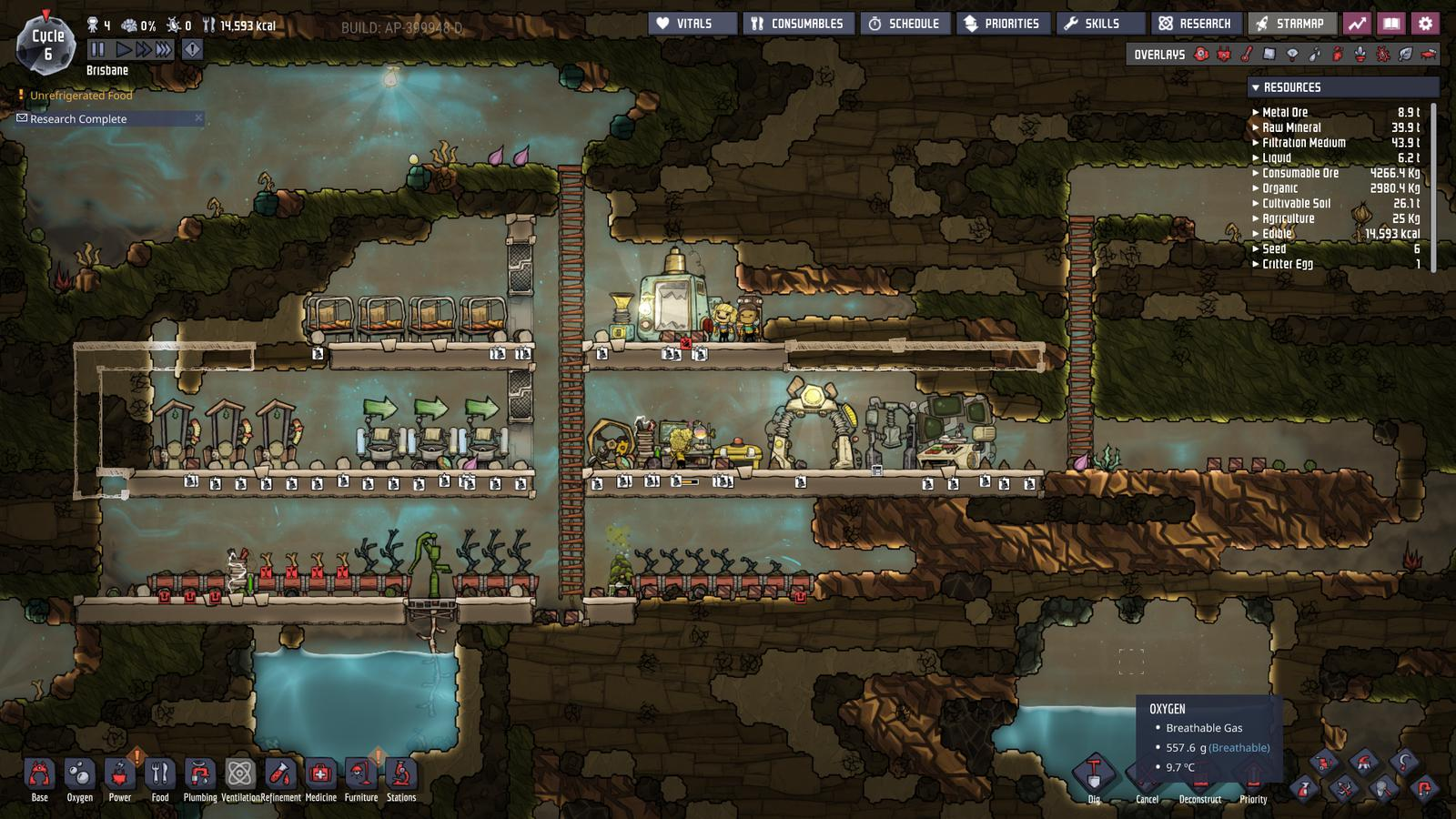 oxygen not included advanced tips